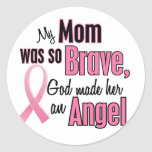 My Mum Is An Angel Breast Cancer Stickers
