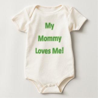 My mummy loves me organic bodysuit