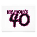 My Mum's 40