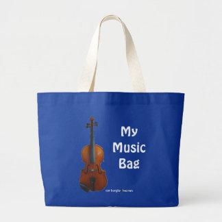 My Music Bag - Blue (Customize)