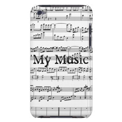 My Music! Barely There iPod Cases