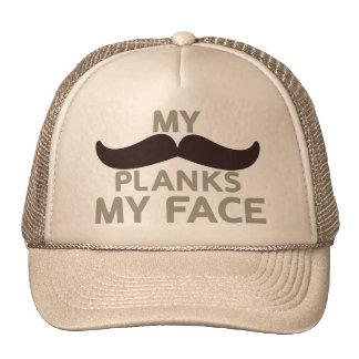 My Mustache Planks My Face Cap