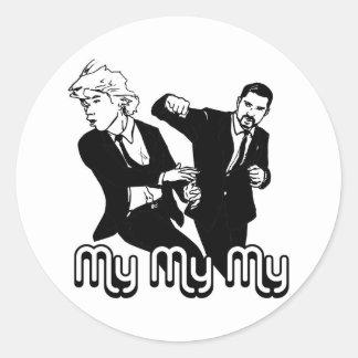 My My My Classic Round Sticker
