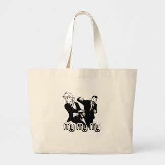 My My My Large Tote Bag