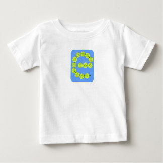 My name begins with E and its with daisies! Baby T-Shirt