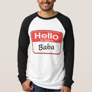 My Name is Baba Tshirts