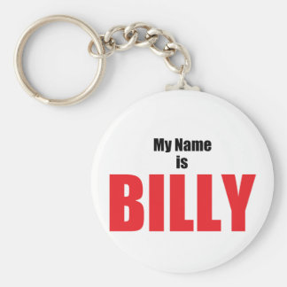 My Name is Billy Key Ring