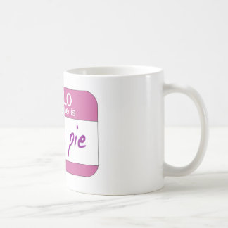 My Name is Cutie Pie Coffee Mug