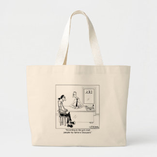 My Name is Occupant Canvas Bags