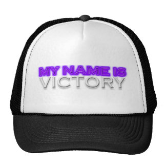 My Name Is Victory Cap