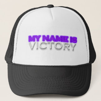 My Name Is Victory Trucker Hat