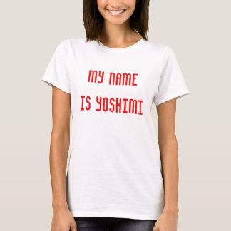 My Name is Yoshimi T-Shirt