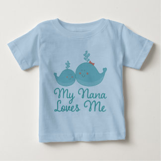 My Nana Loves Me grandchild gift t-shirt