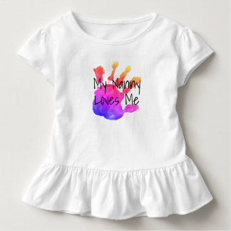 my nanny loves me2 toddler T-Shirt