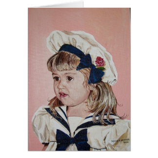 My new Sailor Suit Card
