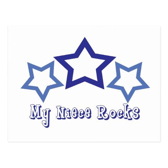 My Niece Rocks Postcard