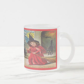 My Night out- Halloween Frosted Glass Mug