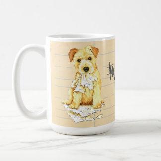 My Norfolk Terrier Ate My Homework Coffee Mug