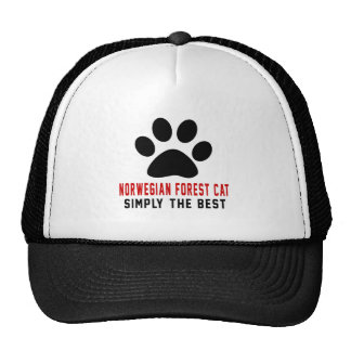 My Norwegian Forest Cat Simply The Best Cap