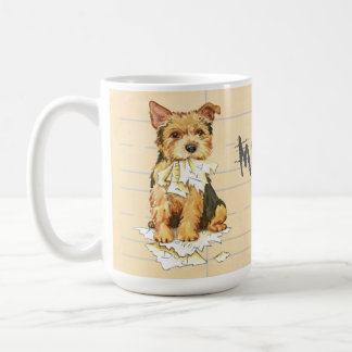 My Norwich Terrier Ate my Homework Coffee Mug