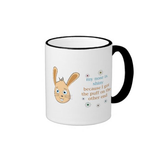 My Nose is Shiny Coffee Mug