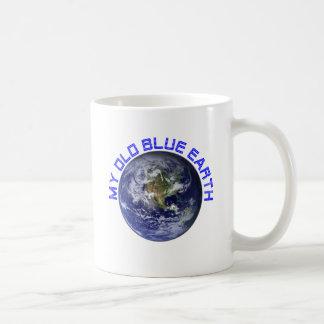 MY OLD BLUE EARTH COFFEE MUG