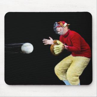 My Old Man Is Baseball Mad Magic Lantern Slide Mouse Pads