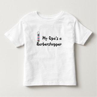 My Opa's a Barbershopper Toddler T-Shirt
