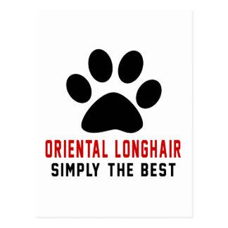 My Oriental Longhair Simply The Best Postcard