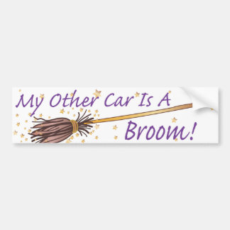 My Other Car Is A Broom 2 - Bumber Sticker Bumper Sticker
