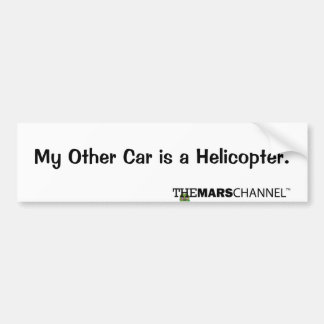 My Other Car is a Helicopter Bumper Sticker
