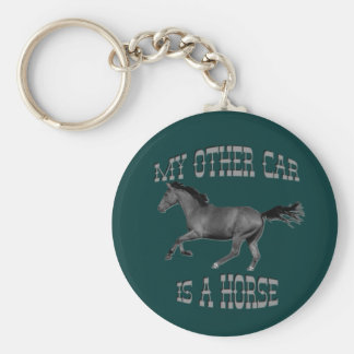 My Other Car Is A Horse Key Ring