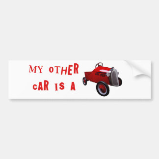 My Other Car Is A Hot Rod Bumper Sticker