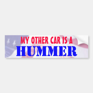 My Other Car is a Hummer Bumper Stickers