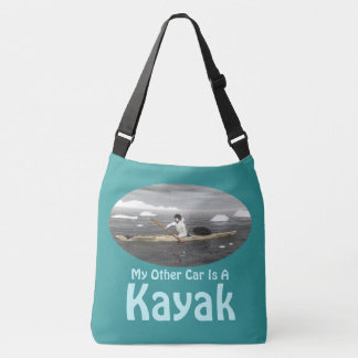 My Other Car Is A Kayak Crossbody Bag