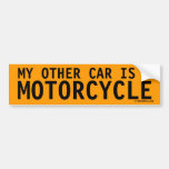 My Other Car is a Motorcycle
