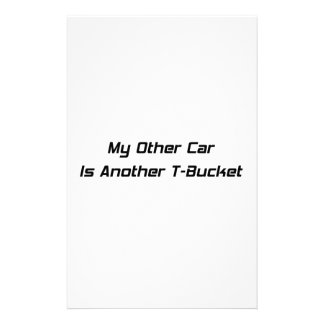 My Other Car Is Another Tbucket Tbucket Gifts By G Customized Stationery