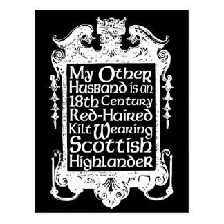 My Other Husband - Highlander Postcard