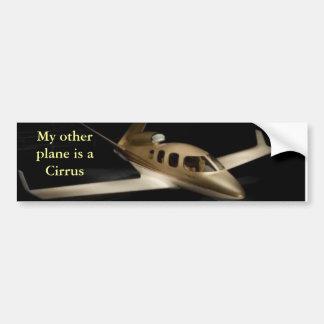 My other plane is a Cirrus Bumper Sticker