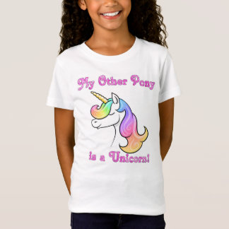 My Other Pony is a Unicorn kids Tshirt