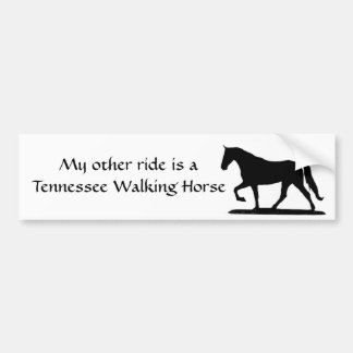 My other ride is a Tennessee Walking Horse Bumper Sticker