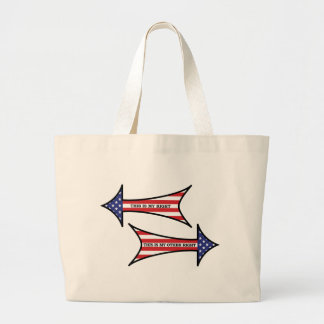 My Other Right tote Jumbo Tote Bag