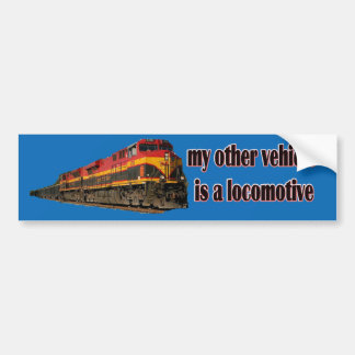 My Other Vehicle Is a Locomotive KCS Bumper Sticker