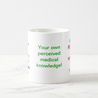 My Own Experience-What makes you the expert? Basic White Mug