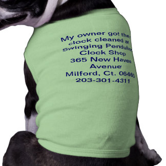 My owner got their clock cleaned atSwinging Pen... Shirt