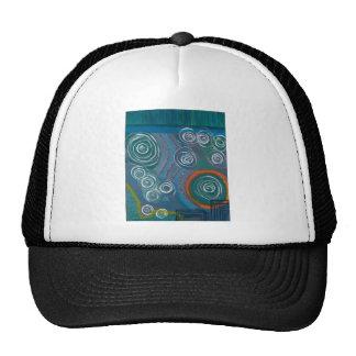 my painting trucker hat