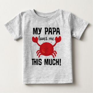 My Papa Loves Me This Much grandchild T-shirt