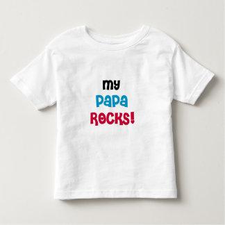 My Papa Rocks Toddler T-Shirt