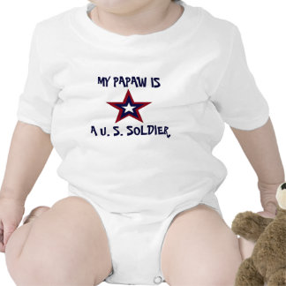 MY PAPAW IS A SOLDIER SHIRT