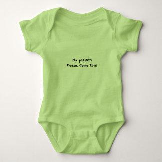 My Parent's Dream Come True Baby Bodysuit